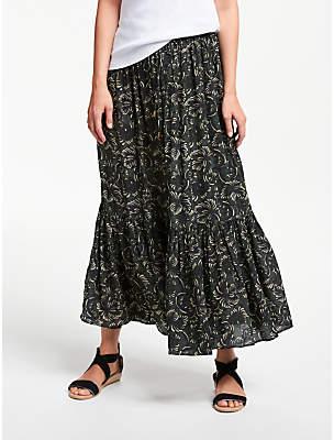 Stella Forest Elie Maxi Skirt, Forest