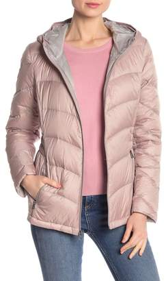Lucky Brand Missy Quilted Hooded Jacket