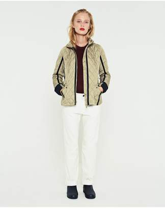 Hunter Womens Refined Quilted Trench Jacket