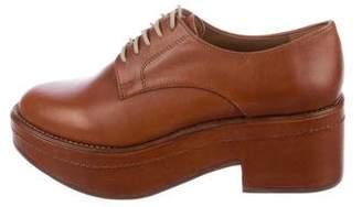 Rachel Comey Leather Platform Oxfords