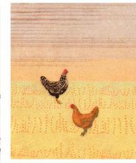 Hadley Hutton Chicken Scratch - Print