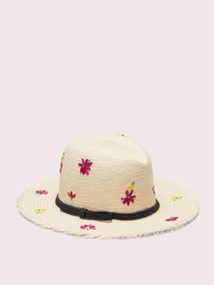 f0b4491a Kate Spade marker floral embroidery trilby