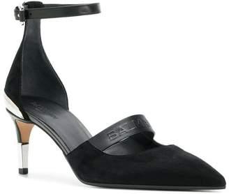 Balmain Chance ankle strap pumps