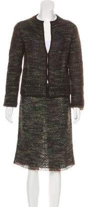 Max Mara Knit Skirt Set