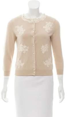 Valentino Wool Cardigan Set