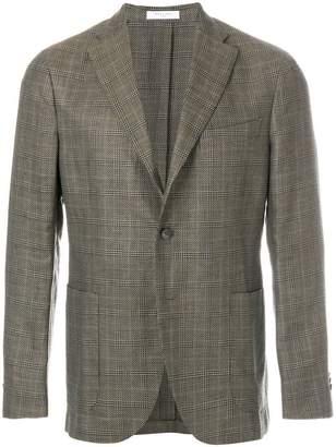 Boglioli checked suit jacket