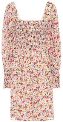 Ganni Exclusive to Mytheresa floral georgette minidress