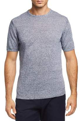 Bloomingdale's The Men's Store at Marled Short Sleeve Crewneck Sweater - 100% Exclusive
