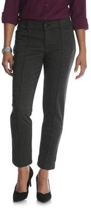 Lee Riders Women's Ponte Knit Comfort Waist Ankle Pant