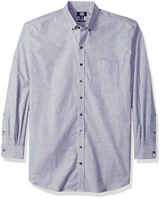 Cutter & Buck Men's Epic Easy Care Long Sleeve Stretch Oxford Button Down Shirt