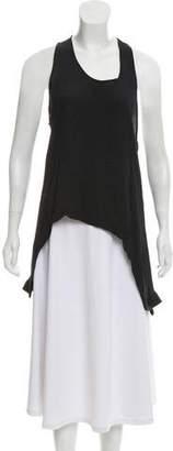 Preen by Thornton Bregazzi Silk Sleeveless Top