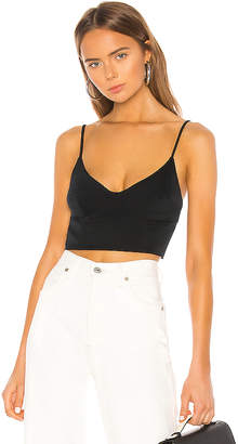 BCBGMAXAZRIA Cropped Bustier Top