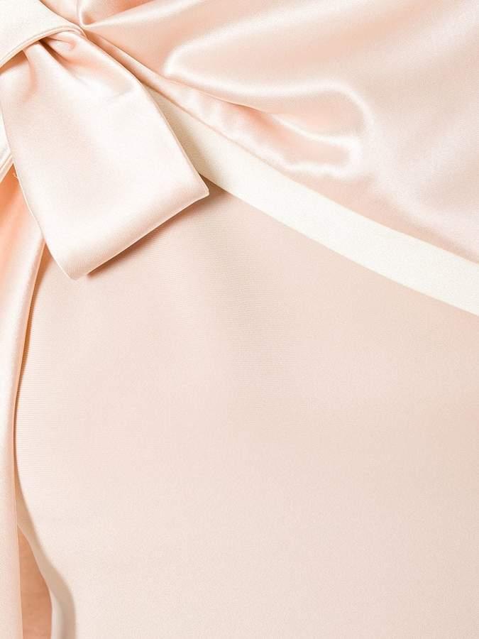 Lanvin shoulder bow dress