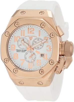 Swiss Legend Men's 10541-RG-02-WA Trimix Diver Chronograph Dial Watch