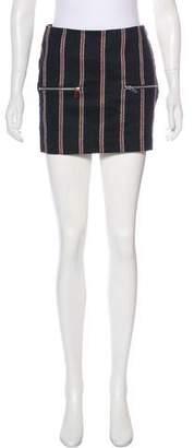 Elizabeth and James Wool Mini Skirt