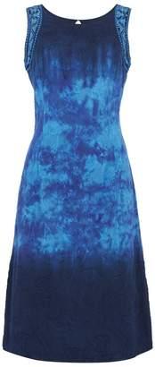Dorothy Perkins Womens *Roman Originals Tie Dye Blue Dress