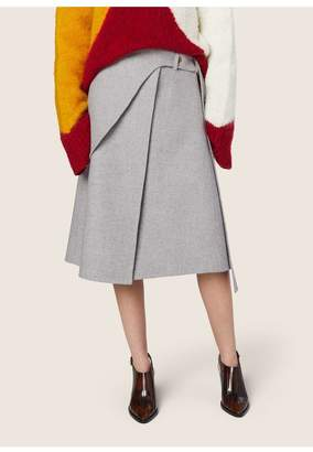 Derek Lam Wrap Saddle Skirt