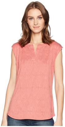 Woolrich Eco Rich New Heights Sleeveless Tee Women's T Shirt