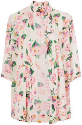 Bellerose floral print kimono