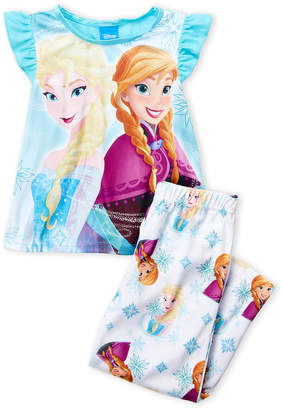 Frozen (Girls 4-16) Anna & Elsa Pajama Set