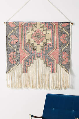 Anthropologie Anya Knotted Tapestry Wall Hanging