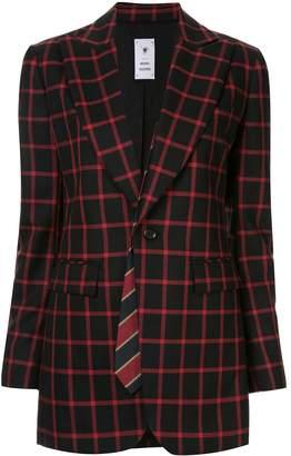 Puma Maison Yasuhiro classic check blazer