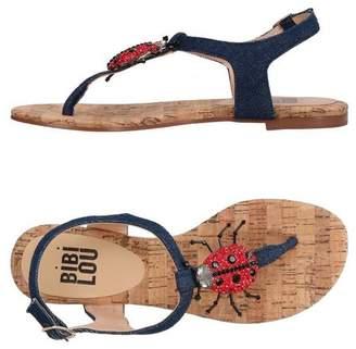 FOOTWEAR - Toe post sandals Bibi Lou For Nice Best Buy ygP9hoXX