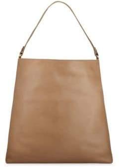 GiGi New York Women's Harlow Pebbled Leather Hobo Bag - Camel
