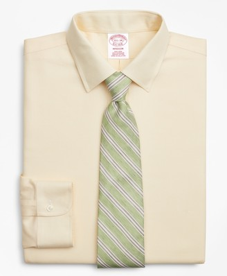 Brooks Brothers Madison Classic-Fit Dress Shirt, Non-Iron Dobby