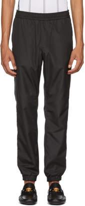 Versace Black Logo Tape Track Pants