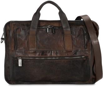 Numero 10 Office Leather Crossbody Bag