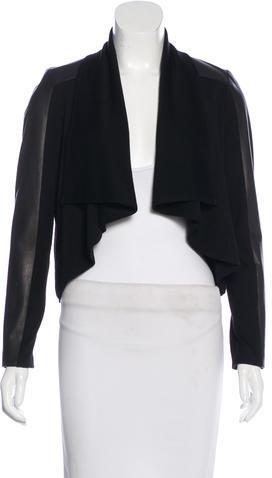 Alice + OliviaAlice + Olivia Leather & Wool Jacket