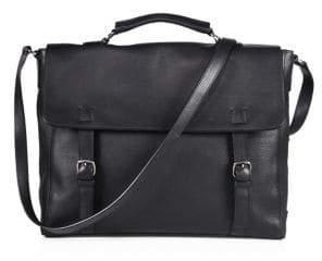 Giorgio Armani Leather Briefcase