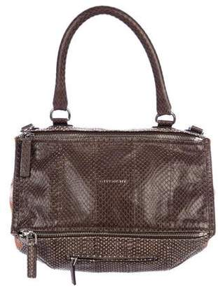 Givenchy Medium Snakeskin Pandora Bag