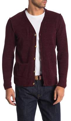 Knowledge Cotton Apparel Chenille Button Down Cardigan