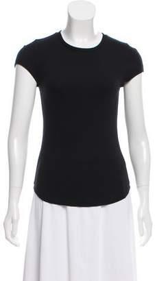 Rebecca Minkoff Rib Knit Short Sleeve Top