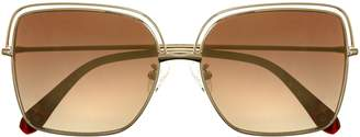 Vince Camuto Flat Square-lens Sunglasses