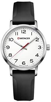 Wenger Women's 'Sport' Swiss Quartz Stainless Steel and Silicone Casual Watch