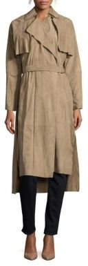 Lorne Suede Trenchcoat $995 thestylecure.com