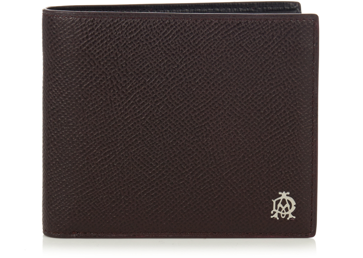Alfred DunhillDUNHILL Cadogan bi-fold leather wallet