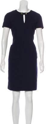 Tory Burch Short Sleeve Knee-Length Dress