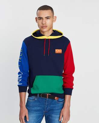 Polo Ralph Lauren Long Sleeve Hi-Tech Pop Over Cruise Hoodie