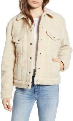 Levi's Fleece Trucker Jacket
