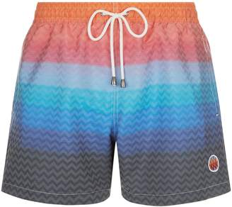 Missoni Zig Zag Print Swim Shorts