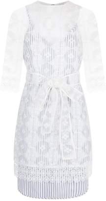Sandro Sheer Lace Dress