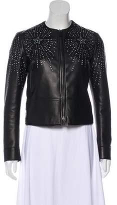 Valentino Studded Leather Jacket