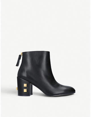 Stuart Weitzman Zappa Galaxy studded leather ankle boots