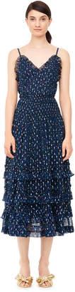 Rebecca Taylor Speckled Dot Metallic Clip Cami