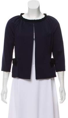 Lanvin Bow-Accented Evening Jacket