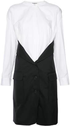 Chalayan deconstructed coat shirt